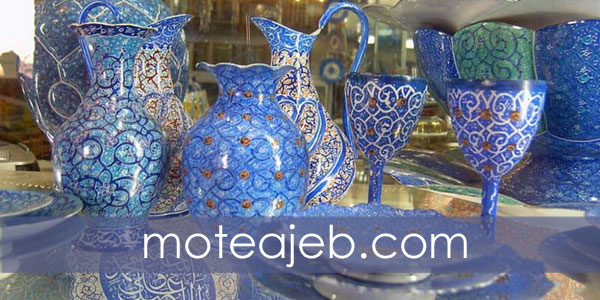 Artwork and handicrafts in Isfahan - آثار هنری و صنایع دستی اصفهان