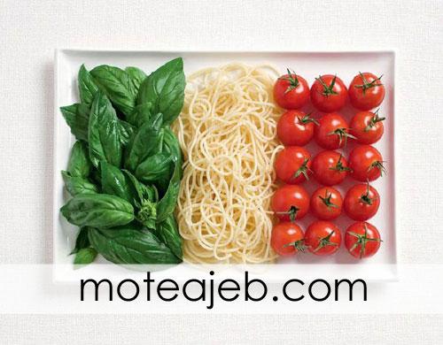 countries flag of traditional foods 4 - پرچم کشور ها از غذاهای سنتی