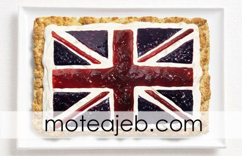 countries flag of traditional foods 7 - پرچم کشور ها از غذاهای سنتی