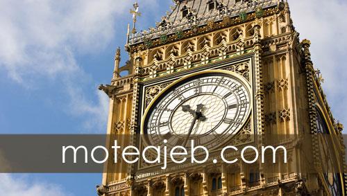 ساعت عجیب بیگ بن در لندن