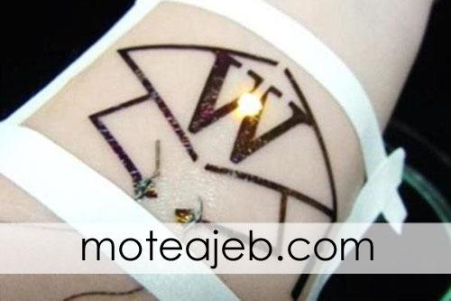 Production of electronic tattoo in Japan - ساخت تاتو های الکترونیکی در ژاپن