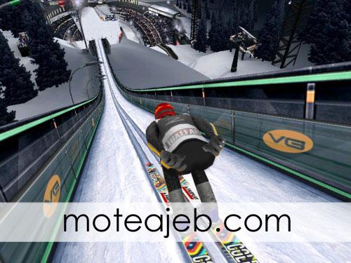 رکورد جهانی اسکی پرش شکسته شد