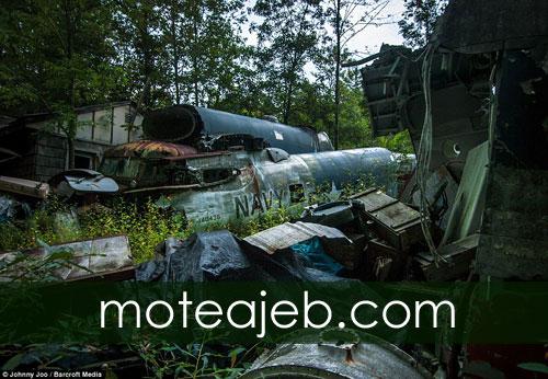 گورستان هواپیماهای جنگ جهانی دوم