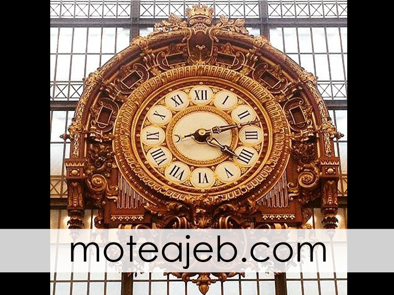 ساعت موزه لوور