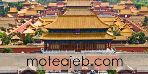 شهر عجیب چوبی در چین