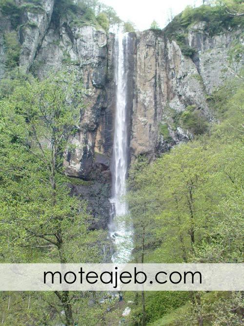 بلند ترین آبشار ایران در استان گیلان