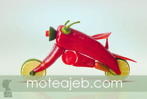 Build vehicles with fruits 1 - ساخت وسایل نقلیه با میوه ها