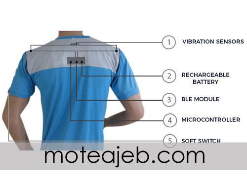 تی شرت هوشمند ردیاب سلامت