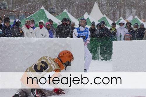 ورزش عجیب برف بازی (یوکیگاسن)