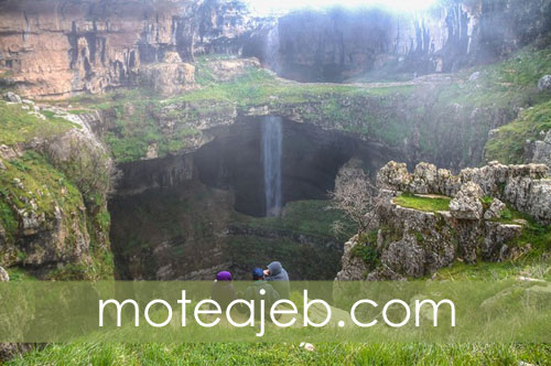 Cave-area-three-bridges-in-Lebanon