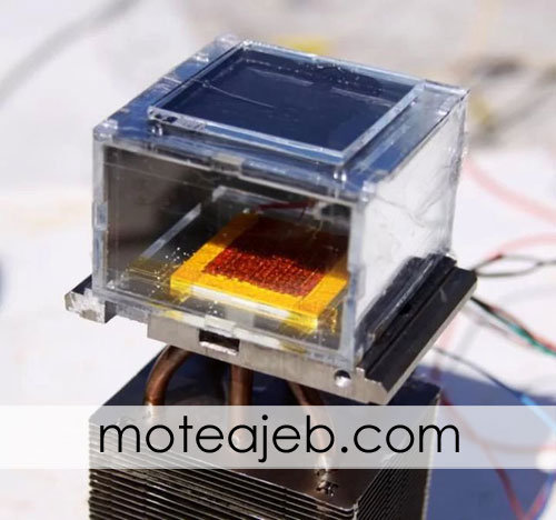 Water from the air with solar 1 - تولید آب از هوا با دستگاه خورشیدی