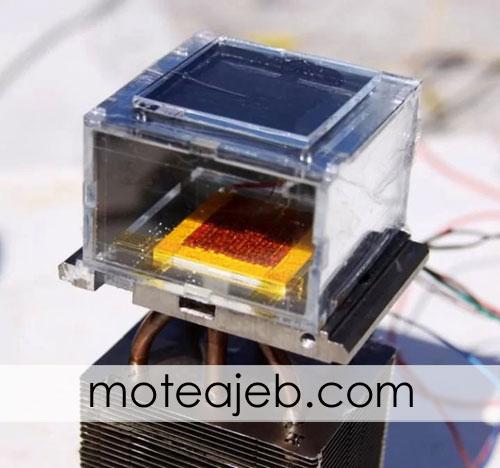 تولید آب از هوا با دستگاه خورشیدی