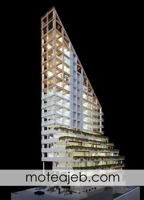طراحی بلندترین سازه چوبی جهان