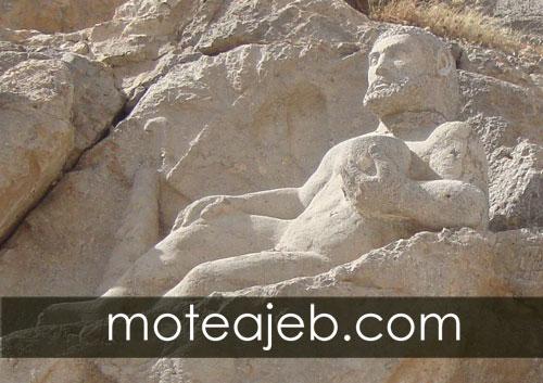 تندیس هرکول تاریخی در جاده ابریشم