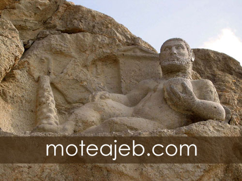 Statue of Hercules Historical on the Silk Road