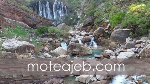 بلندترین آبشار طبیعی خاورمیانه