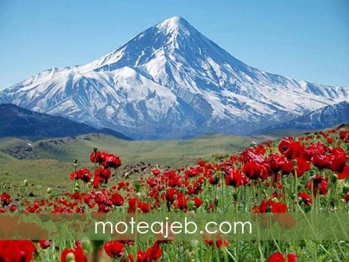 ویژگی کوه دماوند بلندترین قله در ایران