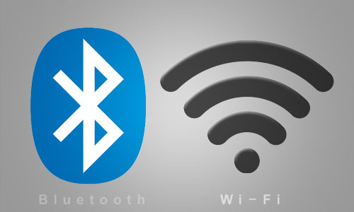 WiFi sender and bluetooth smart tile