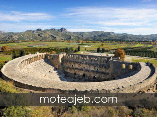 5 تا از زیباترین بنا های تاریخی ترکیه!