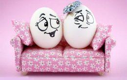 خلاقیت بر روی تخم مرغ
