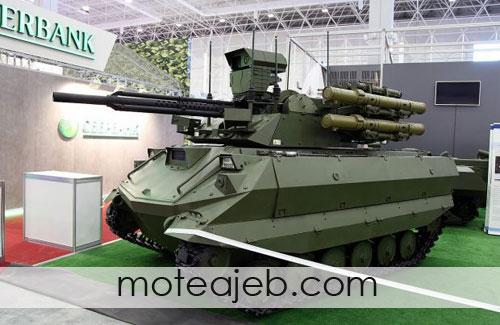 چندین ربات نظامی برتر جهان