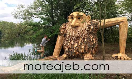 غول های چوبی در دانمارک