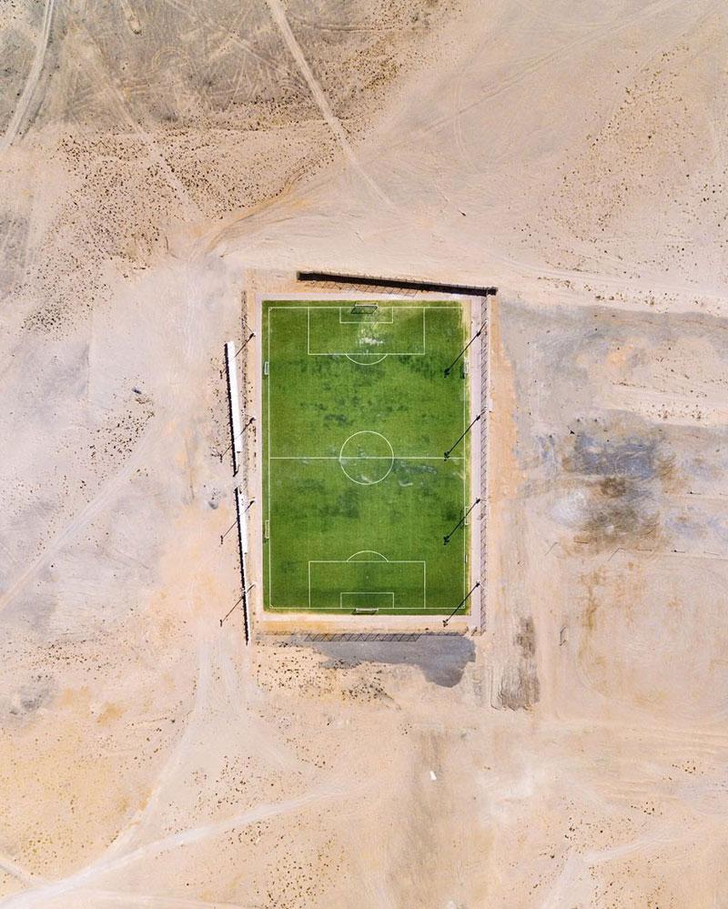 عکس ها خیره کننده کویر دبی و ابوظبی