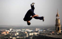 خطرناک ترین ورزش جهان (پارکور)