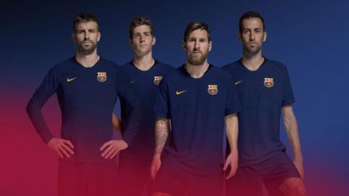 رونمایی از لوگوی جدید باشگاه بارسلونا