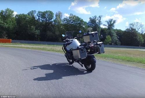 موتورسیکلت خودران بدون راننده شرکت BMW