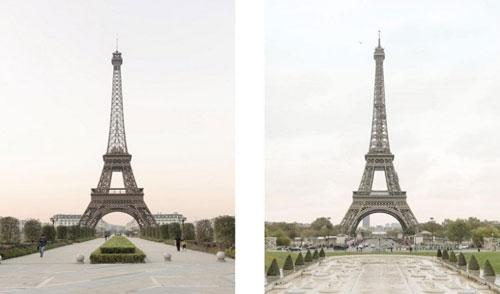 تصاویری از پاریس قلابی در کشور چین