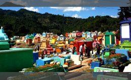 قبرستانی عجیب در گواتمالا