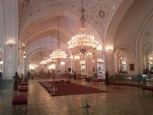 کاخ گلستان یکی از قدیمی ترین کاخ های ایران